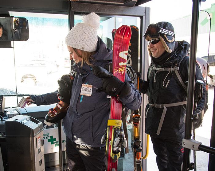 Inter Laurentides support ski autobus