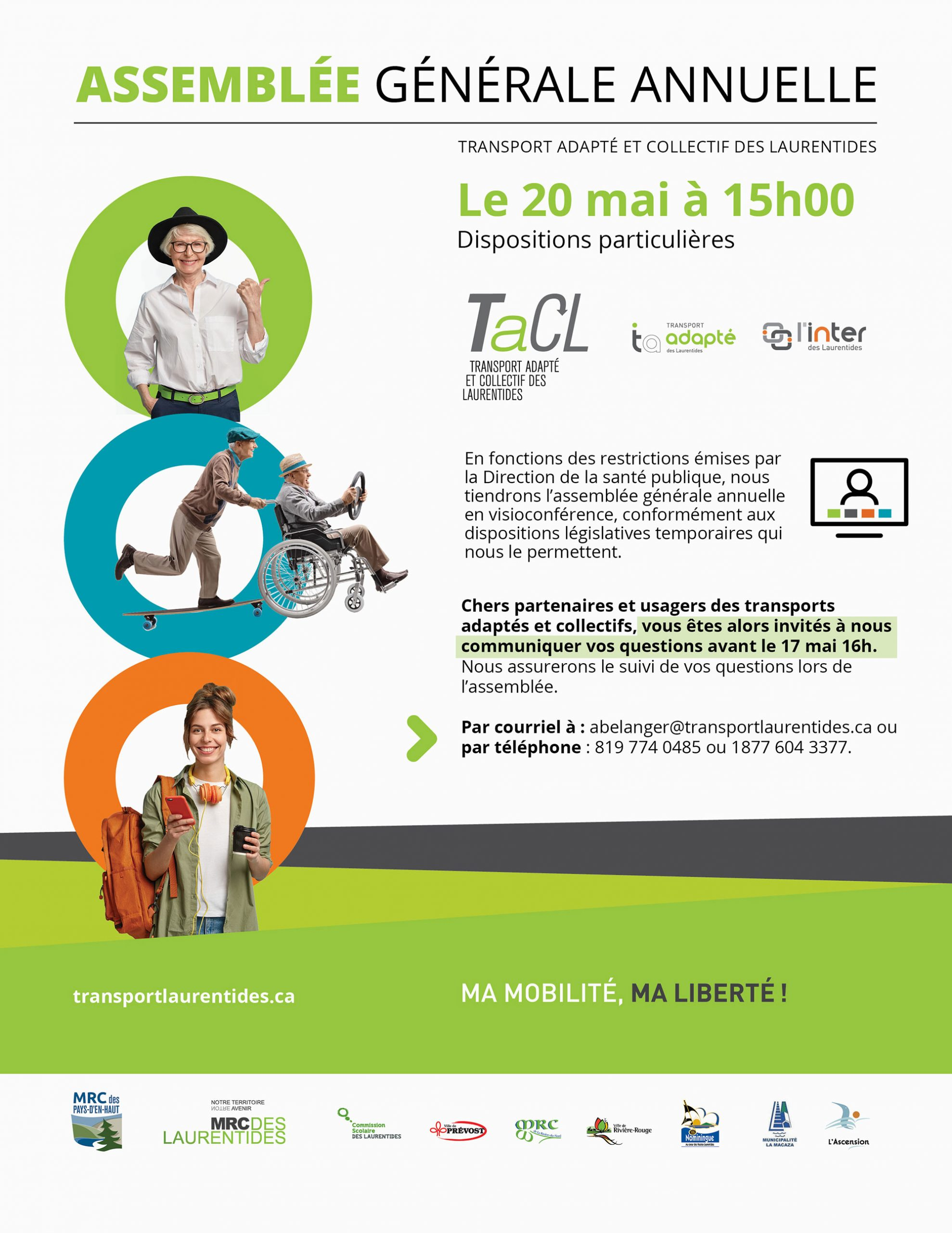 Assemblee annuelle TACL video conference